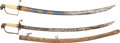 Edged Weapons:Swords, Lot of Two U.S. Eagle Pommel Swords.... (Total: 2 Items)