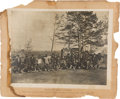 Miscellaneous:Ephemera, Ulysses S. Grant: Two Oversized Photographs of Grant's Scouts andGuides....