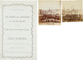 Photography, The Program for the Re-raising of the United States Flag on Fort Sumter Together With Two Photos of the Ceremonies - Brought B...