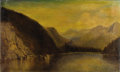 Paintings, HAMILTON HAMILTON (American 1847-1928). Mountain Landscape, 1875. Oil on canvas. 18 x 30 inches (45.7 x 76.2 cm). Signed...