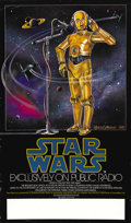 "Movie Posters:Science Fiction, Star Wars Radio Series (20th Century Fox, 1981). NPR PromotionalPoster (17"" x 29""). ..."