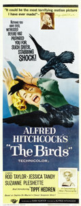 """Movie Posters:Hitchcock, The Birds (Universal, 1963). Insert (14"""" X 36""""). ..."""