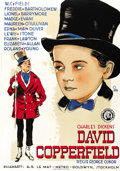 "Movie Posters:Drama, David Copperfield (MGM, 1935). Swedish One Sheet (27.5"" X 39.5"")...."