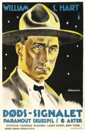 """Movie Posters:Western, O'Malley of the Mounted (Artcraft, 1921). Danish Poster (23"""" X 35""""). ..."""