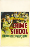 "Movie Posters:Crime, Crime School (Warner Brothers, 1938). Window Card (14"" X 22""). ..."