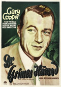 """Movie Posters:Comedy, One Sunday Afternoon (Paramount, 1933). Swedish One Sheet (27.5"""" X 39.5""""). ..."""