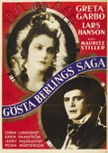 "Movie Posters:Romance, Gosta Berlings Saga (Svensk Filmindustri, R-Late 1920s). SwedishOne Sheet (27.5"" X 39""). ..."