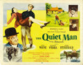"Movie Posters:Drama, The Quiet Man (Republic, 1952). Half Sheet (22"" X 28"") Style B...."