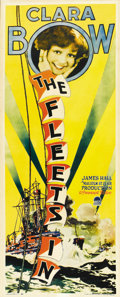 "Movie Posters:Comedy, The Fleet's In (Paramount, 1928). Insert (14"" X 36""). ..."