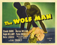 """The Wolf Man (Universal, 1941). Title Lobby Card (11"""" X 14"""")"""