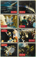 """Movie Posters:Drama, A Night to Remember (Rank, 1959). British Lobby Card Set of 8 (11"""" X 14""""). ... (Total: 8 Items)"""
