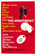 "Movie Posters:Academy Award Winner, The Apartment (United Artists, 1960). One Sheet (27"" X 41""). ..."
