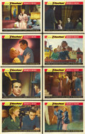 "Movie Posters:Hitchcock, I Confess (Warner Brothers, 1953). Lobby Card Set of 8 (11"" X 14"").... (Total: 8 Items)"