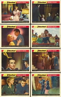"I Confess (Warner Brothers, 1953). Lobby Card Set of 8 (11"" X 14""). ... (Total: 8 Items)"