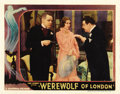 "Movie Posters:Horror, Werewolf of London (Universal, 1935). Lobby Card (11"" X 14""). ..."