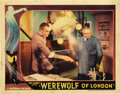 "Movie Posters:Horror, Werewolf of London (Universal, 1935). Lobby Card (11"" X 14"")...."