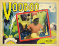 "Movie Posters:Documentary, Voodoo (Principal Distributing, 1933). Lobby Card (11"" X 14""). ..."