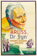 "Movie Posters:Adventure, Dr. Syn (Gaumont British, 1937). One Sheet (27"" X 41"") Style A. ..."