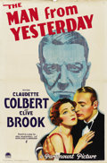 "Movie Posters:War, The Man from Yesterday (Paramount, 1932). One Sheet (27"" X 41"")Style A. ..."