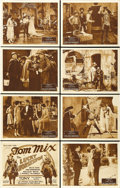 "Movie Posters:Western, The Lucky Horseshoe (Fox, 1925). Lobby Card Set of 8 (11"" X 14""). ... (Total: 8 Items)"