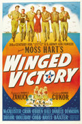 "Movie Posters:War, Winged Victory (20th Century Fox, 1944). One Sheet (27"" X 41""). ..."