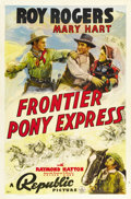 """Movie Posters:Western, Frontier Pony Express (Republic, 1939). One Sheet (27"""" X 41""""). ..."""