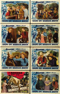 """Movie Posters:Western, Shine on Harvest Moon (Republic, 1938). Lobby Card Set of 8 (11"""" X 14""""). ... (Total: 8 Items)"""