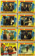 "Movie Posters:Western, In Old Caliente (Republic, 1939). Lobby Card Set of 8 (11"" X 14"").... (Total: 8 Items)"