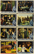 """Movie Posters:Western, Jesse James at Bay (Republic, 1941). Lobby Card Set of 8 (11"""" X 14""""). ... (Total: 8 Items)"""