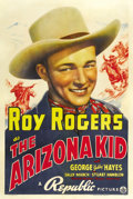 "Movie Posters:Western, The Arizona Kid (Republic, 1939). One Sheet (27"" X 41""). ..."