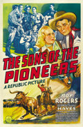 "Movie Posters:Western, The Sons of the Pioneers (Republic, 1942). One Sheet (27"" X 41""). ..."