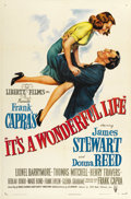 "Movie Posters:Drama, It's a Wonderful Life (RKO, 1946). One Sheet (27"" X 41""). ..."