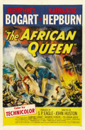 "Movie Posters:Adventure, The African Queen (United Artists, 1952). One Sheet (27"" X 41"")...."