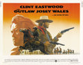 "Movie Posters:Western, The Outlaw Josey Wales (Warner Brothers, 1976). Half Sheet (22"" X 28""). ..."