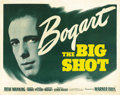 "Movie Posters:Crime, The Big Shot (Warner Brothers, 1942). Half Sheet (22"" X 28"") Style A...."