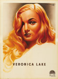 "Movie Posters:Film Noir, Veronica Lake (Paramount, 1944). French Petite (23.5"" X 31.5""). ..."