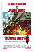 "Movie Posters:James Bond, You Only Live Twice (United Artists, 1967). One Sheet (27"" X 41"")Style A. ..."