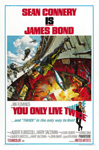 """You Only Live Twice (United Artists, 1967). One Sheet (27"""" X 41"""") Style A"""