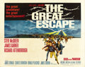 "Movie Posters:War, The Great Escape (United Artists, 1963). Half Sheet (22"" X 28"")...."