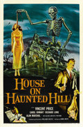 "Movie Posters:Horror, House on Haunted Hill (Allied Artists, 1959). One Sheet (27"" X41""). ..."