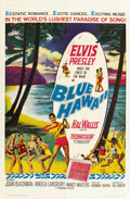 "Movie Posters:Elvis Presley, Blue Hawaii (Paramount, 1961). One Sheet (27"" X 41""). ..."