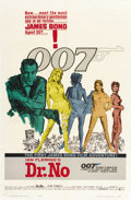 "Movie Posters:James Bond, Dr. No (United Artists, 1962). One Sheet (27"" X 41""). ..."