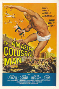 "The Amazing Colossal Man (American International, 1957). One Sheet (27"" X 41"")"