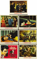 "Movie Posters:Elvis Presley, Jailhouse Rock (MGM, 1957). Title Lobby Card and Lobby Cards (6)(11"" X 14""). ... (Total: 7 Items)"
