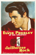 "Movie Posters:Elvis Presley, Jailhouse Rock (MGM, 1957). One Sheet (27"" X 41""). ..."
