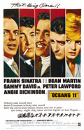 "Movie Posters:Crime, Ocean's 11 (Warner Brothers, 1960). One Sheet (27"" X 41"")...."