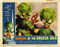 """Movie Posters:Science Fiction, Invasion of the Saucer-Men (American International, 1957). Lobby Cards (4) (11"""" X 14"""").... (Total: 4 Items)"""