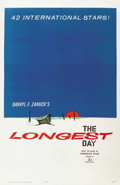"Movie Posters:War, The Longest Day (20th Century Fox, 1962). One Sheet (27"" X 41"")Advance. ..."