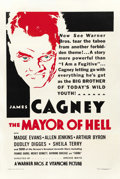 "Movie Posters:Crime, The Mayor of Hell (Warner Brothers, 1933). One Sheet (27"" X 41"")...."