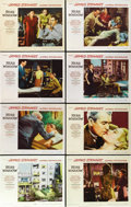 "Movie Posters:Hitchcock, Rear Window (Paramount, 1954). Lobby Card Set of 8 (11"" X 14""). ...(Total: 8 Items)"
